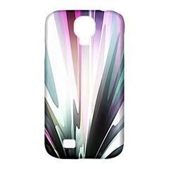 Flower Petals Abstract Background Wallpaper Samsung Galaxy S4 Classic Hardshell Case (PC+Silicone)