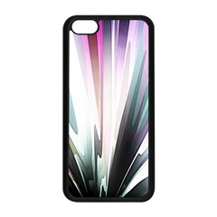 Flower Petals Abstract Background Wallpaper Apple iPhone 5C Seamless Case (Black)