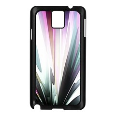 Flower Petals Abstract Background Wallpaper Samsung Galaxy Note 3 N9005 Case (black)