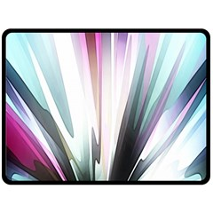 Flower Petals Abstract Background Wallpaper Double Sided Fleece Blanket (large)