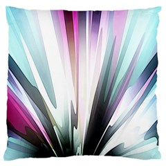 Flower Petals Abstract Background Wallpaper Large Flano Cushion Case (one Side)