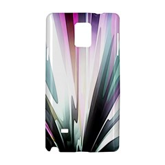 Flower Petals Abstract Background Wallpaper Samsung Galaxy Note 4 Hardshell Case