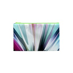 Flower Petals Abstract Background Wallpaper Cosmetic Bag (xs)