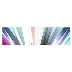 Flower Petals Abstract Background Wallpaper Satin Scarf (Oblong)
