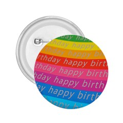 Colorful Happy Birthday Wallpaper 2.25  Buttons