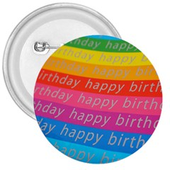 Colorful Happy Birthday Wallpaper 3  Buttons