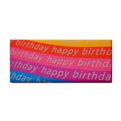 Colorful Happy Birthday Wallpaper Cosmetic Storage Cases