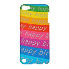Colorful Happy Birthday Wallpaper Apple Ipod Touch 5 Hardshell Case