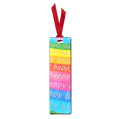 Colorful Happy Birthday Wallpaper Small Book Marks