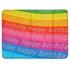 Colorful Happy Birthday Wallpaper Samsung Galaxy Tab 7  P1000 Flip Case