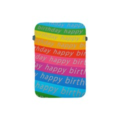 Colorful Happy Birthday Wallpaper Apple Ipad Mini Protective Soft Cases