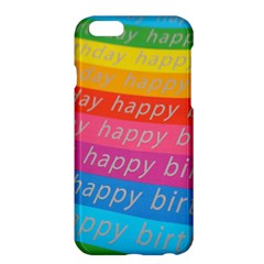 Colorful Happy Birthday Wallpaper Apple iPhone 6 Plus/6S Plus Hardshell Case
