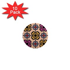 Abstract Seamless Background Pattern 1  Mini Magnet (10 Pack)