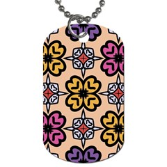 Abstract Seamless Background Pattern Dog Tag (one Side)