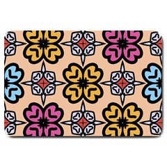 Abstract Seamless Background Pattern Large Doormat
