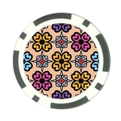 Abstract Seamless Background Pattern Poker Chip Card Guard