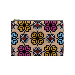 Abstract Seamless Background Pattern Cosmetic Bag (medium)