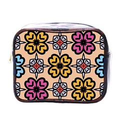 Abstract Seamless Background Pattern Mini Toiletries Bags