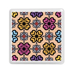 Abstract Seamless Background Pattern Memory Card Reader (square)