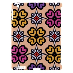 Abstract Seamless Background Pattern Apple iPad 3/4 Hardshell Case (Compatible with Smart Cover)