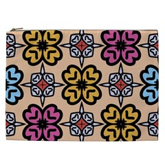 Abstract Seamless Background Pattern Cosmetic Bag (XXL)