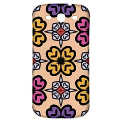 Abstract Seamless Background Pattern Samsung Galaxy S3 S III Classic Hardshell Back Case