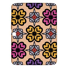Abstract Seamless Background Pattern Samsung Galaxy Tab 3 (10.1 ) P5200 Hardshell Case