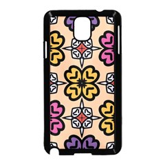 Abstract Seamless Background Pattern Samsung Galaxy Note 3 Neo Hardshell Case (Black)