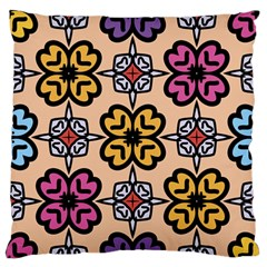 Abstract Seamless Background Pattern Standard Flano Cushion Case (One Side)