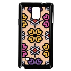 Abstract Seamless Background Pattern Samsung Galaxy Note 4 Case (Black)
