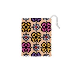 Abstract Seamless Background Pattern Drawstring Pouches (XS)