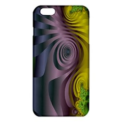 Fractal In Purple Gold And Green Iphone 6 Plus/6s Plus Tpu Case