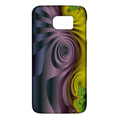 Fractal In Purple Gold And Green Galaxy S6