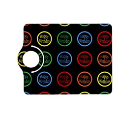 Happy Birthday Colorful Wallpaper Background Kindle Fire Hd (2013) Flip 360 Case
