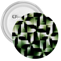 Green Black And White Abstract Background Of Squares 3  Buttons