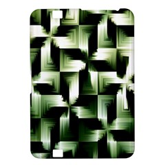 Green Black And White Abstract Background Of Squares Kindle Fire Hd 8 9