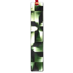 Green Black And White Abstract Background Of Squares Large Book Marks
