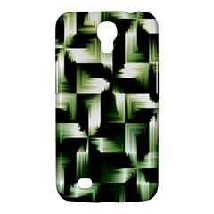 Green Black And White Abstract Background Of Squares Samsung Galaxy Mega 6.3  I9200 Hardshell Case