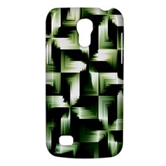 Green Black And White Abstract Background Of Squares Galaxy S4 Mini