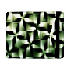 Green Black And White Abstract Background Of Squares Samsung Galaxy Tab Pro 8.4  Flip Case