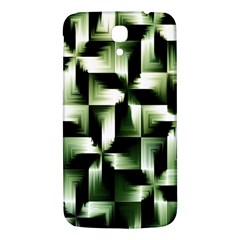Green Black And White Abstract Background Of Squares Samsung Galaxy Mega I9200 Hardshell Back Case