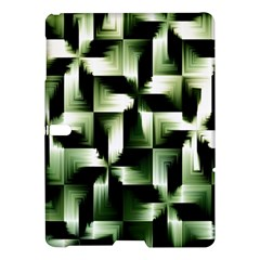 Green Black And White Abstract Background Of Squares Samsung Galaxy Tab S (10.5 ) Hardshell Case