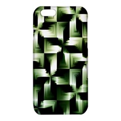 Green Black And White Abstract Background Of Squares iPhone 6/6S TPU Case
