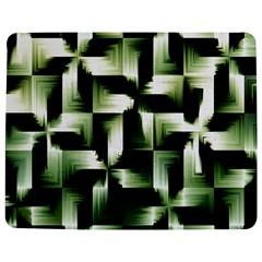 Green Black And White Abstract Background Of Squares Jigsaw Puzzle Photo Stand (Rectangular)