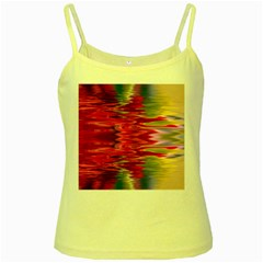 Abstract Pink Colorful Water Background Yellow Spaghetti Tank