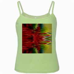 Abstract Pink Colorful Water Background Green Spaghetti Tank