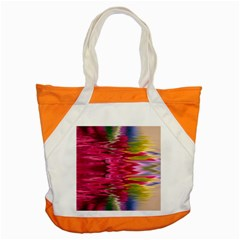 Abstract Pink Colorful Water Background Accent Tote Bag