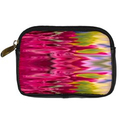 Abstract Pink Colorful Water Background Digital Camera Cases