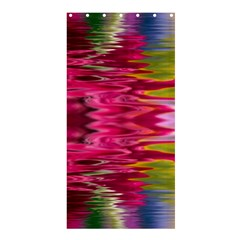 Abstract Pink Colorful Water Background Shower Curtain 36  x 72  (Stall)