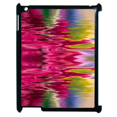 Abstract Pink Colorful Water Background Apple Ipad 2 Case (black)